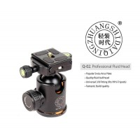 QZSD Q-02 Professional Tripod Fluid Ball Head