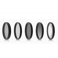 Opteka 52mm High Definition Professional 5 Piece Filter Kit