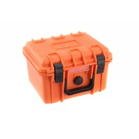 Small Tsunami tough flight storage case - ORANGE