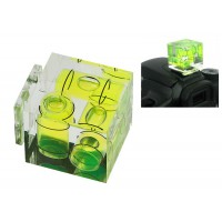 Hot Shoe Three Axis Camera spirit Bubble Level