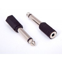 3.5mm JACK to 6.35mm Plug Adapter
