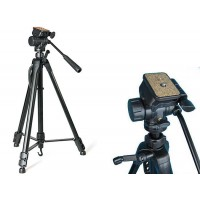 WF-3717 Medium Camera tripod with fluid panning head