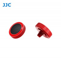 JJC Professional Deluxe Soft Release Button for cameras - Red and black