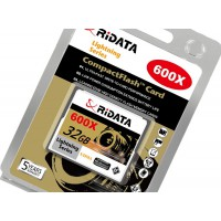 RiDATA 32GB Professional 600X Super high Speed Lightening Compact Flash Card