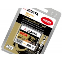 RiDATA 64GB Professional 600X Super high Speed Lightening Compact Flash Card