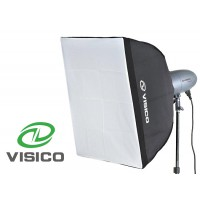 Softbox for studio light 60x60 for Bowens S mount