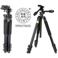 Professional Extremely Heavy Duty Tall Tripod & Panoramic Video Head