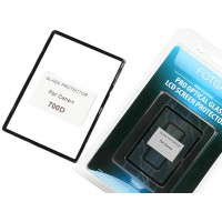 LCD Screen Protector optical glass Canon 700D 750D