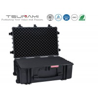 Tsunami super tough heavy duty military grade large transport case with wheels