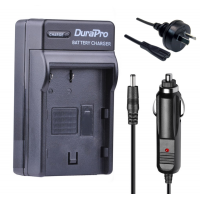 Durapro Car and Wall Charger for JVC BN-VF808U VF823