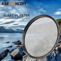 K&F Concept Professional Green HD Slim Multi Coated CPL Filter 58mm