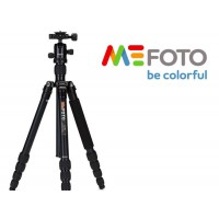 MEFOTO Professional Travel Tripod Roadtrip Classic Monopod Kit - BLACK