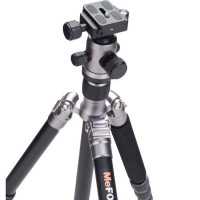 MEFOTO Professional Travel Tripod Roadtrip Classic Monopod Kit - Titanium