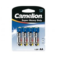 Camelion Battery Super Heavy Pack Of 4 - AA
