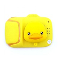 Yellow Duck Childrens Portable Digital Video Photo Camera