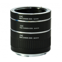 JJC Auto Extension Tube for Canon EOS 12mm 20mm 36mm