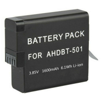Replacement third party battery for GoPro HERO5 HERO6