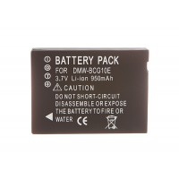 DMW BCG10 Battery For Panasonic TZ20 TZ10 TZ8 TZ7