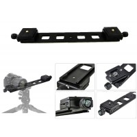 Beike Double Camera Plate with Quick Release Plates 3/8""