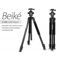 Beike Q360 Value Series Photographic Portable Tripod with Monopod
