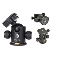 Beike Professional Camera Tripod Grip Action Ball Head