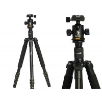 Beike BK-475 Professional Camera Tripod and Ballhead with Monopod
