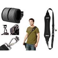 Quick Rapid Shoulder Camera Strap - Black