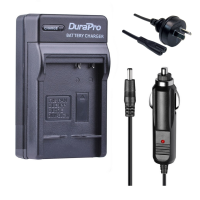 Durapro Brand Car and Wall Charger for panasonic DMW-BLG10