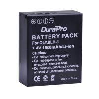 Durapro Camera Battery For Olympus BLH-1