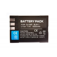 BLM1 Olympus Battery 1800mAh High Capacity
