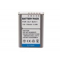 Battery for OLYMPUS BLN-1 Super High capacity 1750mah