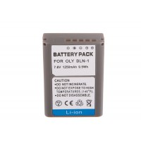 Battery for OLYMPUS BLN-1 1250mah