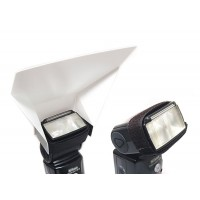 Flash Bounce Card Diffuser fits most Flashes