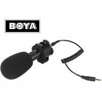 Stereo X/Y Condenser Microphone with Windshield Boya