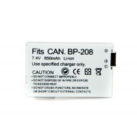 CANON BP-208 Compatible Digital Camcorder Battery