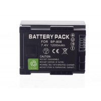 BP-808 Battery For Canon FS10 FS100 Camcorder