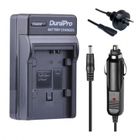Durapro Car and Wall Charger for Canon BP-808