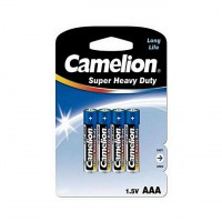 Camelion Battery Super Heavy Pack Of 4 - AAA