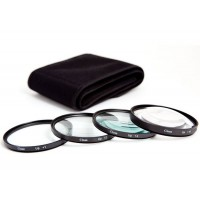 77mm Close Up Macro filter Lens Set 1 2 4 10