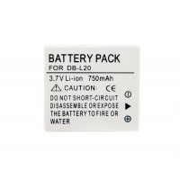 DB-L20 Battery For Sanyo DMX Camera