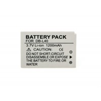 DB-L40 Battery For Sanyo DMX Camera