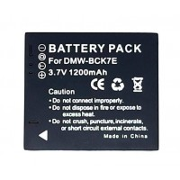 New Replacement Battery for Panasonic DMW-BCK7E