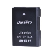 Durapro High Quality Cell EN-EL14 battery for Nikon Cameras 1200mAh