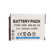 EN-EL12 battery For Nikon Coolpix