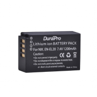 Durapro Battery EN-EL20 for NIKON Camera