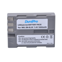 Durapro Battery for Nikon EN-EL3E D30 D50 D70 D90 D70S D300 D300S D700