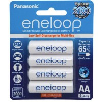 Panasonic Eneloop AA Rechargeable Battery 4 Pack