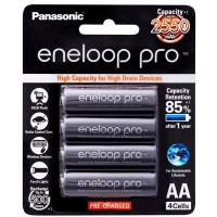 Panasonic Eneloop Pro AA Rechargeable Battery 4 Pack