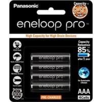 Panasonic Eneloop Pro AAA Rechargeable Battery 4 Pack