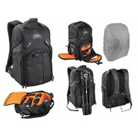 Fantastic quality mid size professional photographic Camera and lens Backpack